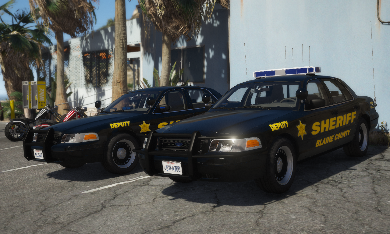 ELS] 2000 Ford Crown Victoria P71- Blaine County Sheriff's