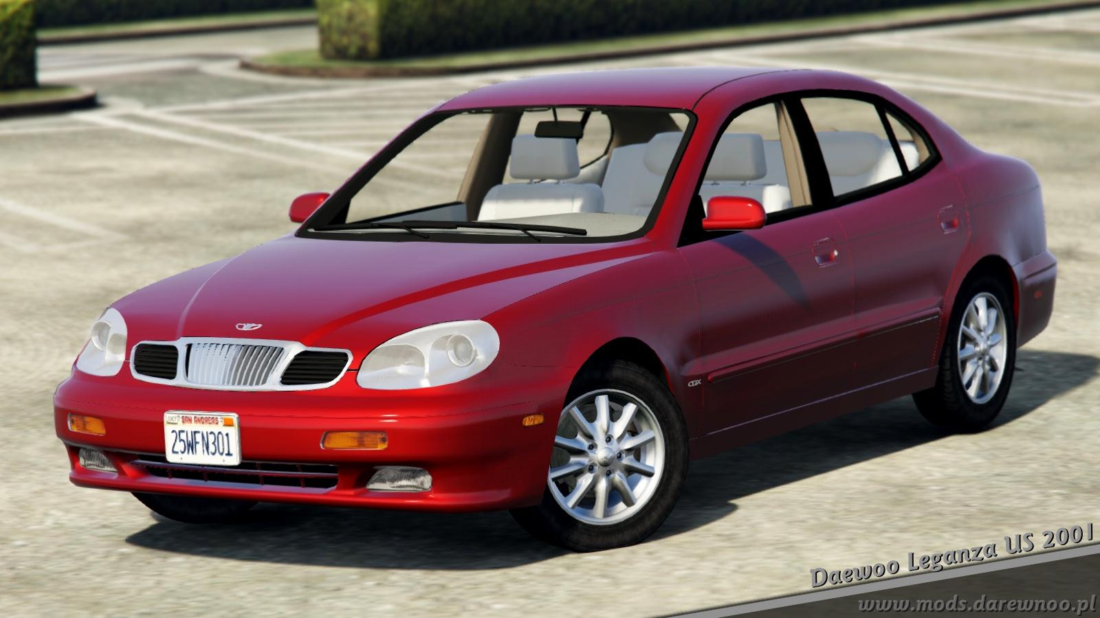 2001 daewoo leganza us add on replace tuning gta5. Black Bedroom Furniture Sets. Home Design Ideas