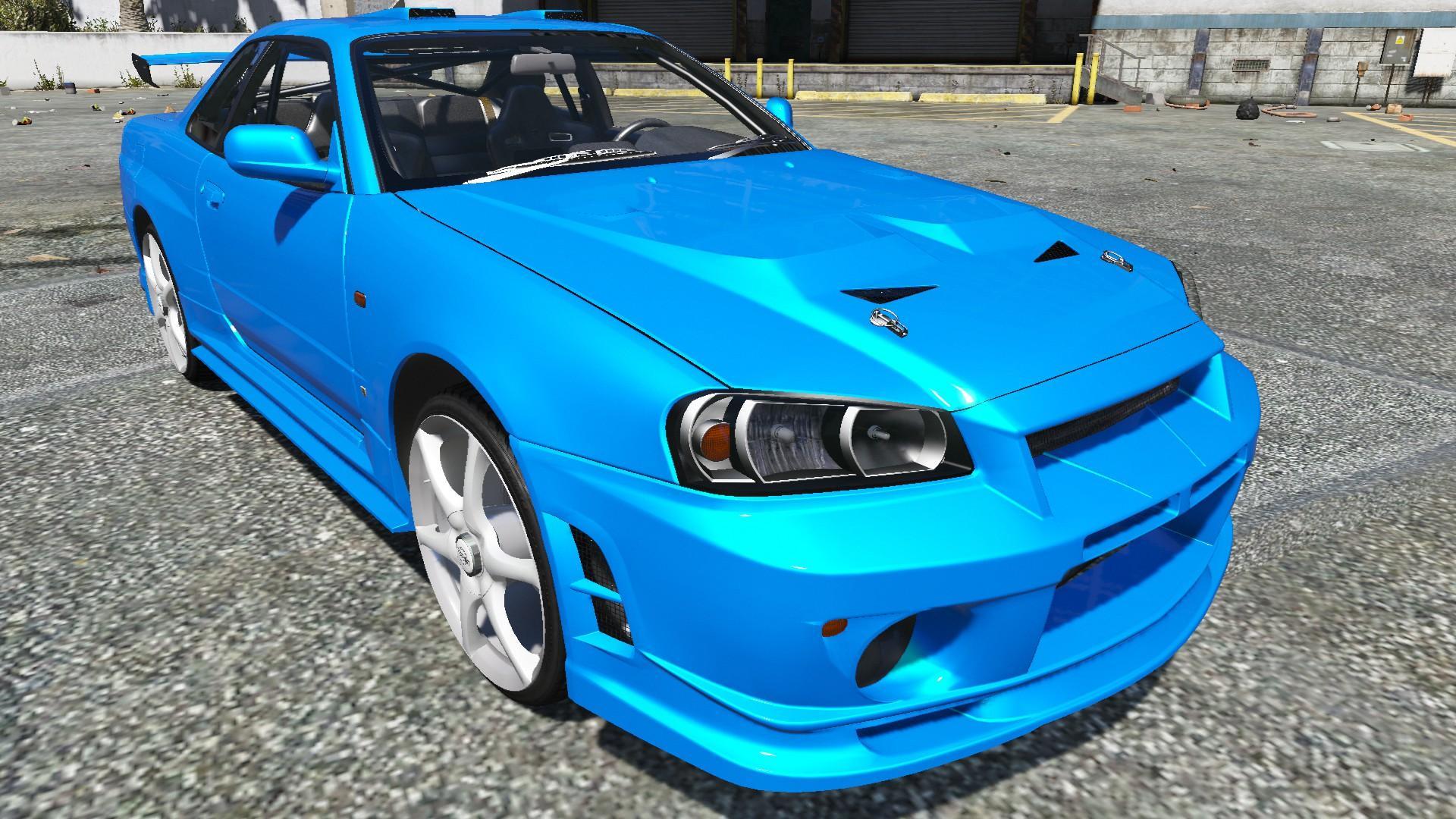 2002 Nissan Skyline Gt R V Spec R34 Gta5 Mods Com