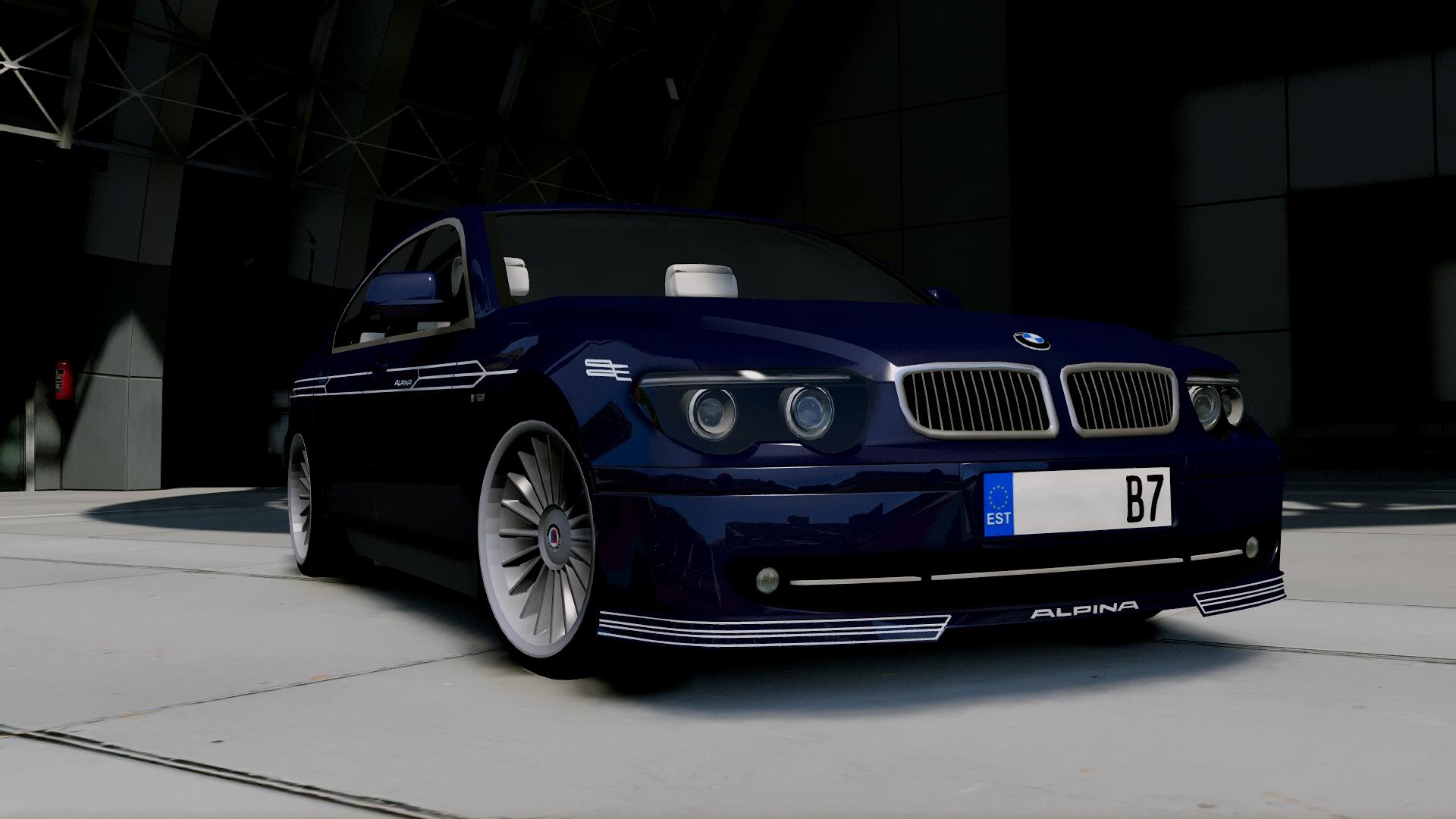 2004 bmw alpina b7 e65 pre facelift add on replace extras gta5. Black Bedroom Furniture Sets. Home Design Ideas