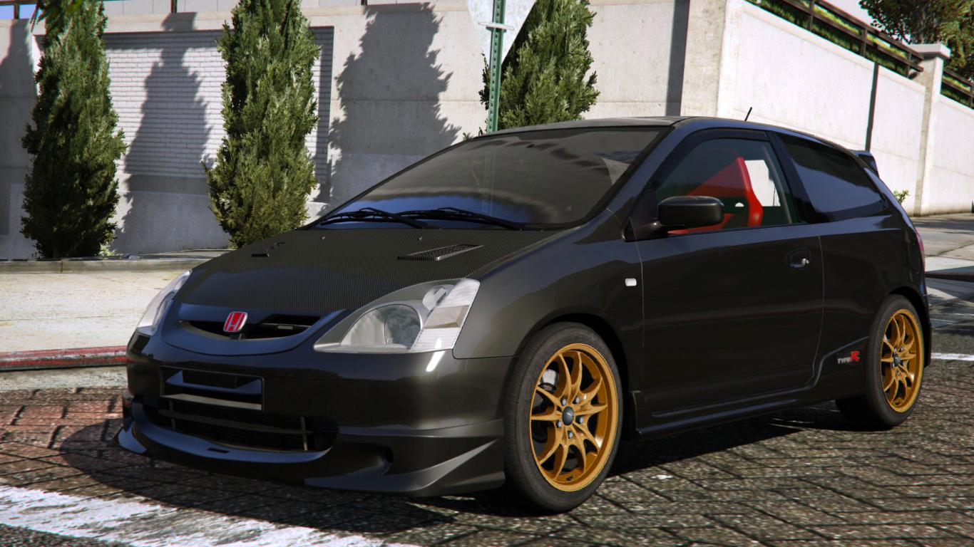 2001 honda civic type r ep3 add on rhd mugen. Black Bedroom Furniture Sets. Home Design Ideas