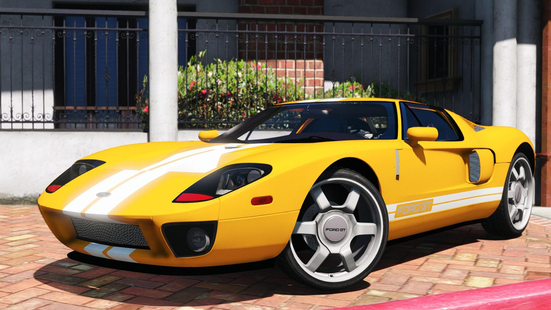 2005 Ford Gt Gta5 Mods Com