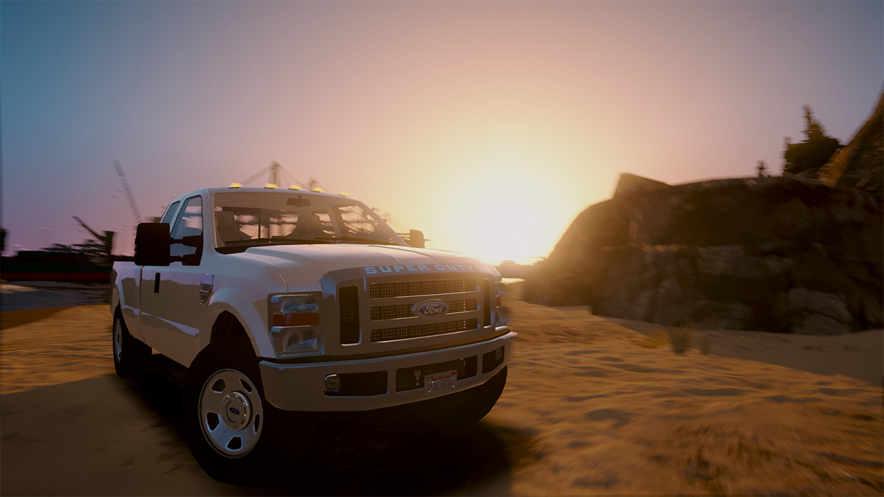 2008 Ford F350 Superduty [Add-On / Replace] - GTA5-Mods.com