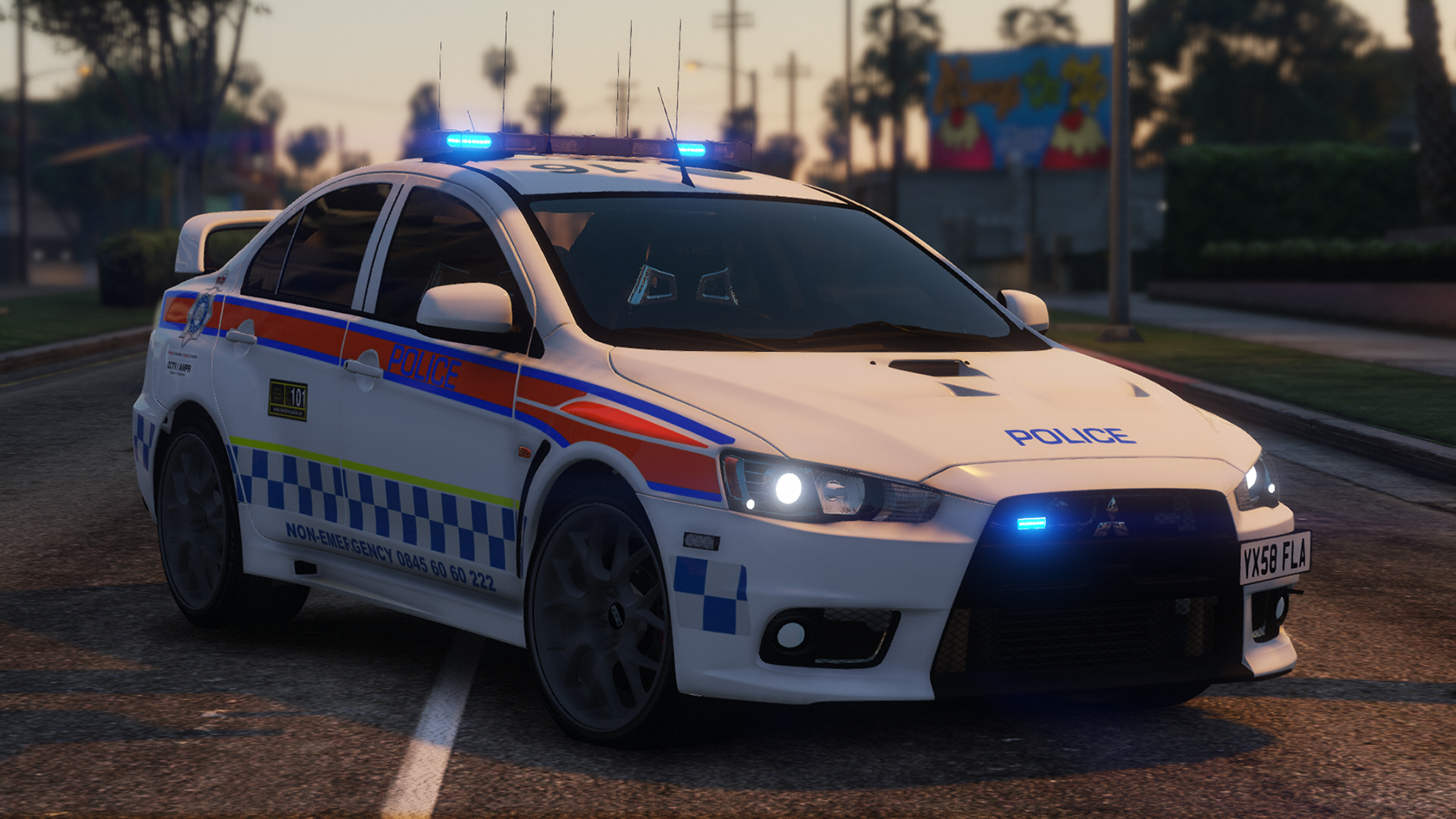 2008 Mitsubishi Evo X - Harthsire Police - GTA5-Mods com