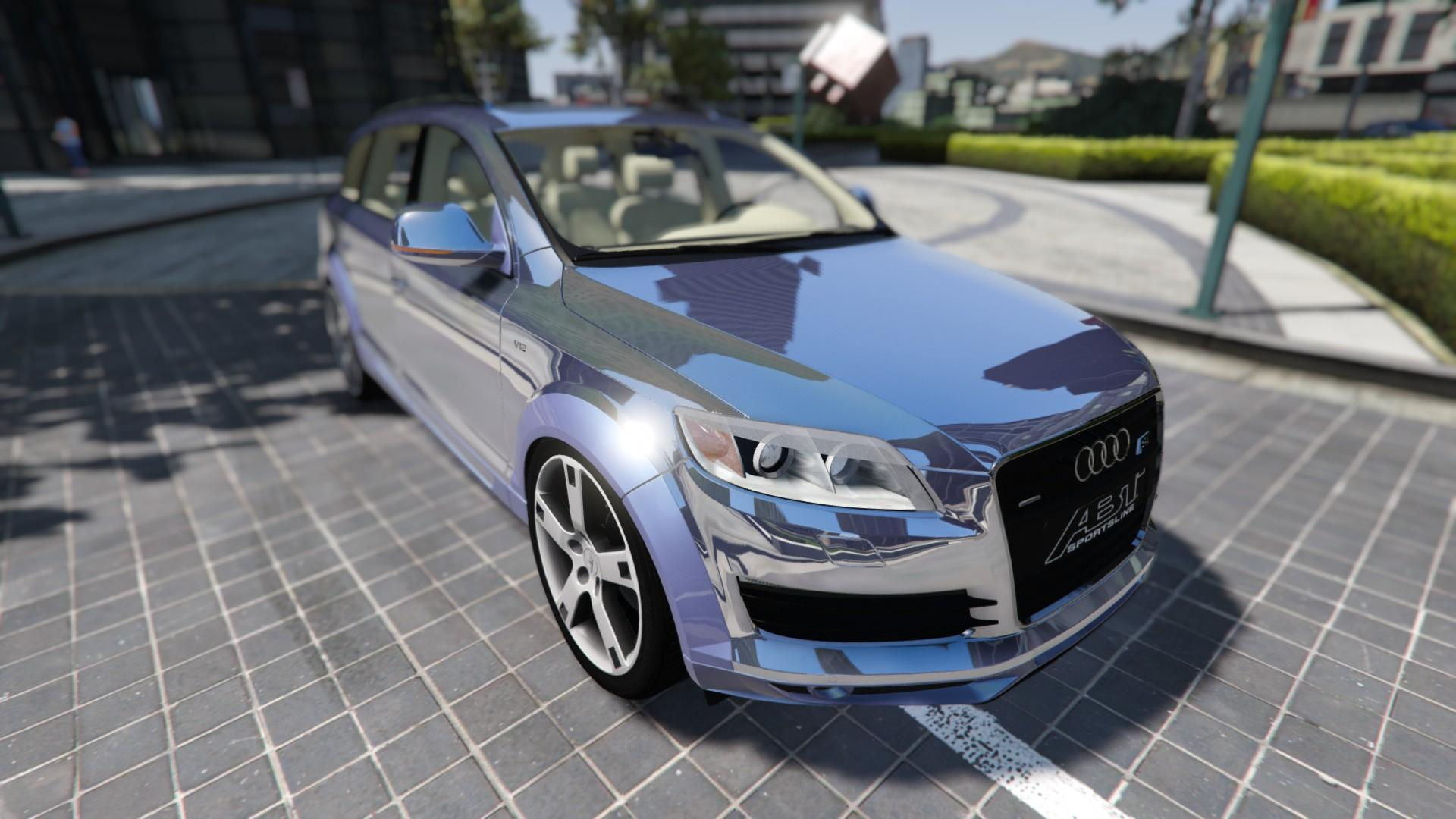 2009 audi q7 as7 abt add on replace gta5. Black Bedroom Furniture Sets. Home Design Ideas