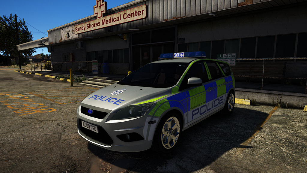 2009 ford focus estate norfolk constabulary els gta5. Black Bedroom Furniture Sets. Home Design Ideas