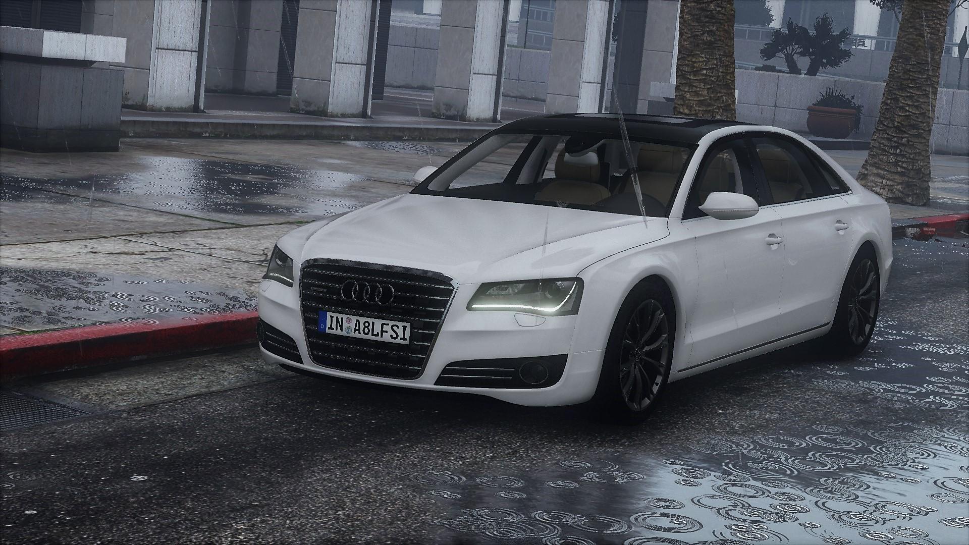 2010 Audi A8 L 4 2 Fsi Quattro D4 Add On Tuning