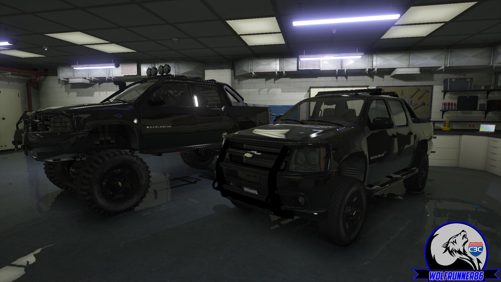 2010 Chevy Avalanche Gta5 Mods Com