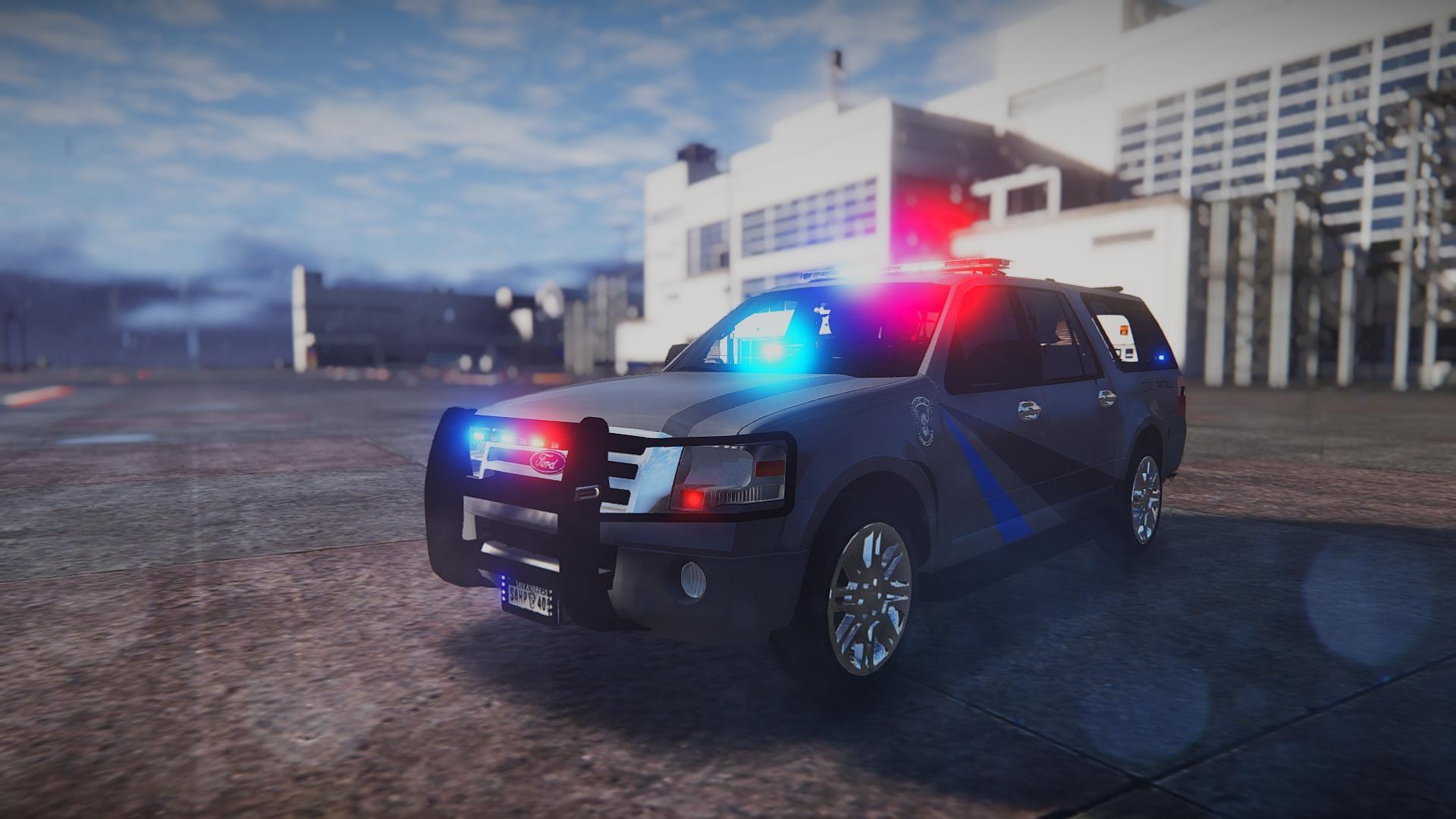 2010 Ford Expedition State Troopers Els Gta5 Mods Com