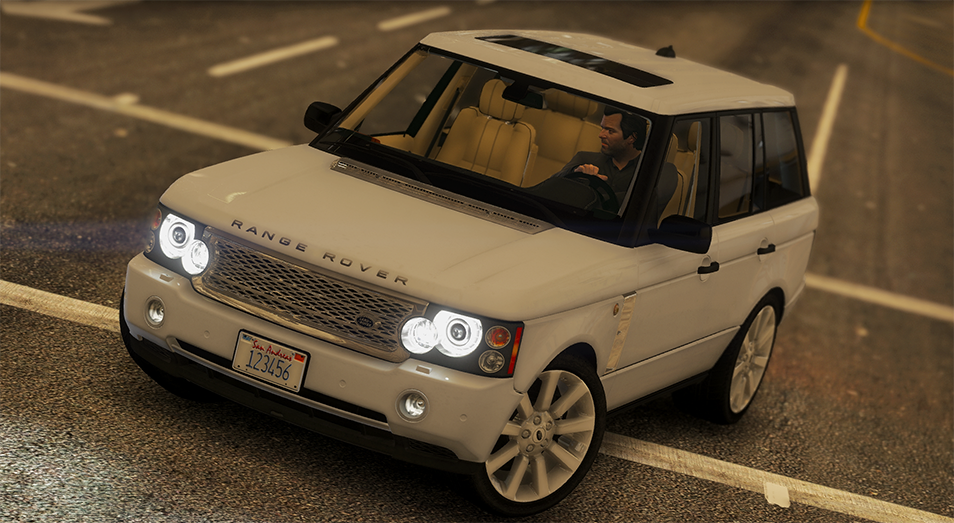 2008 range rover supercharged add on replace gta5. Black Bedroom Furniture Sets. Home Design Ideas