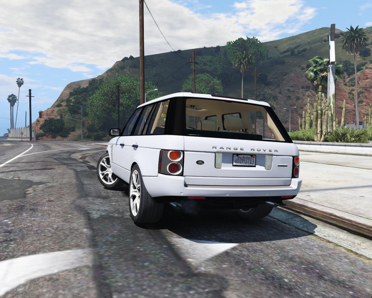 2010 range rover supercharged add on replace tuning gta5. Black Bedroom Furniture Sets. Home Design Ideas