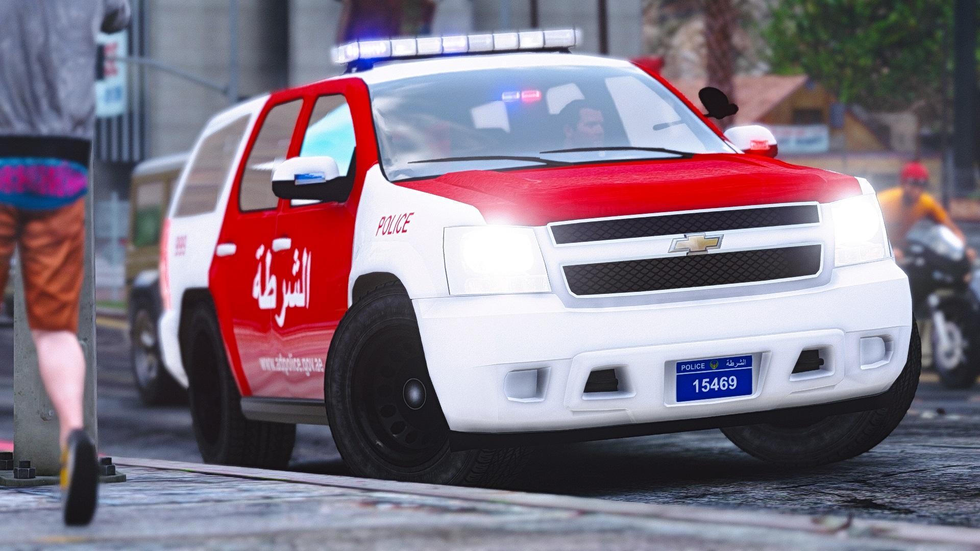 2011 Chevrolet Tahoe Abu Dhabi Police Gta5 Mods Com