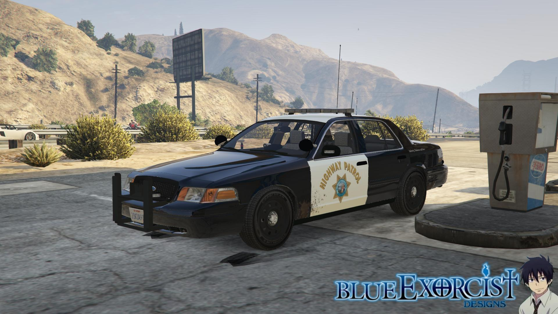 2011 Ford Crown Victoria Police Interceptor San Andreas