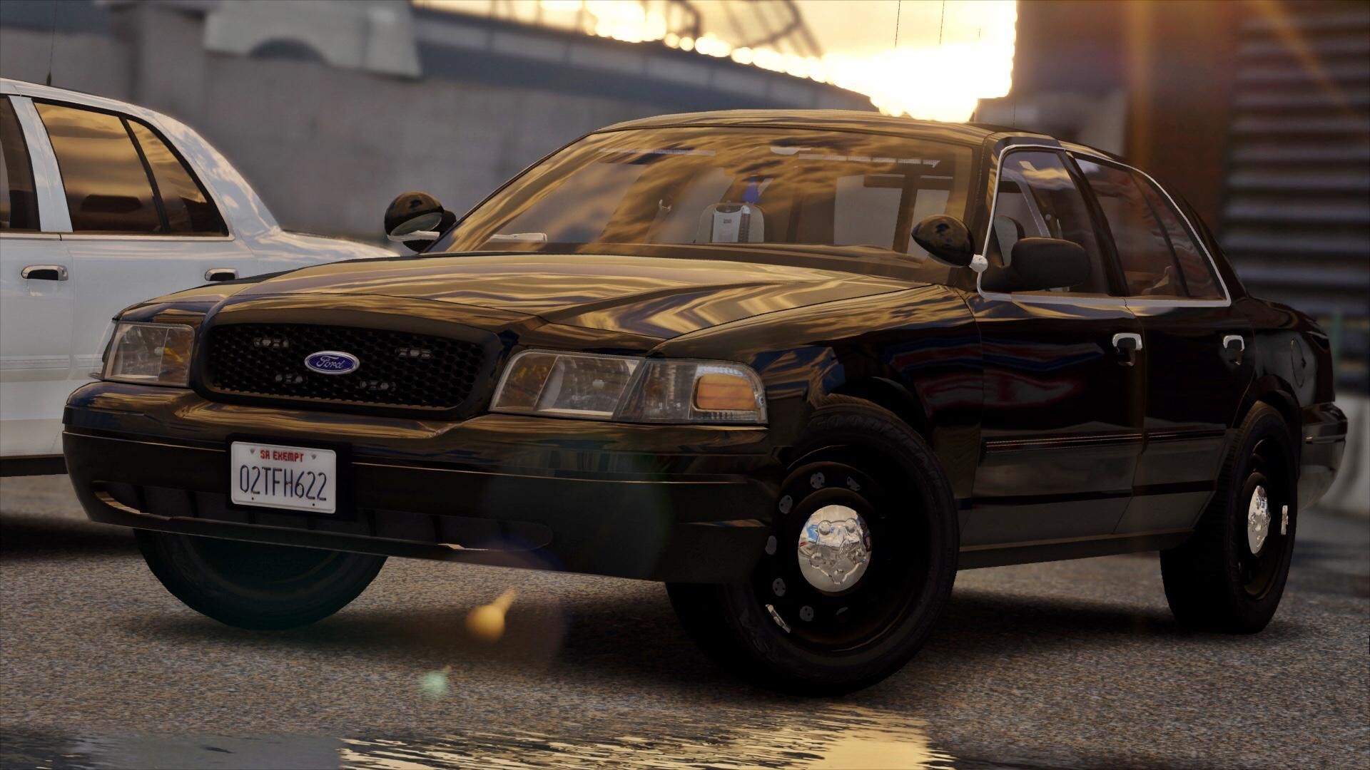 2010 unmarked crown victoria police interceptor  els