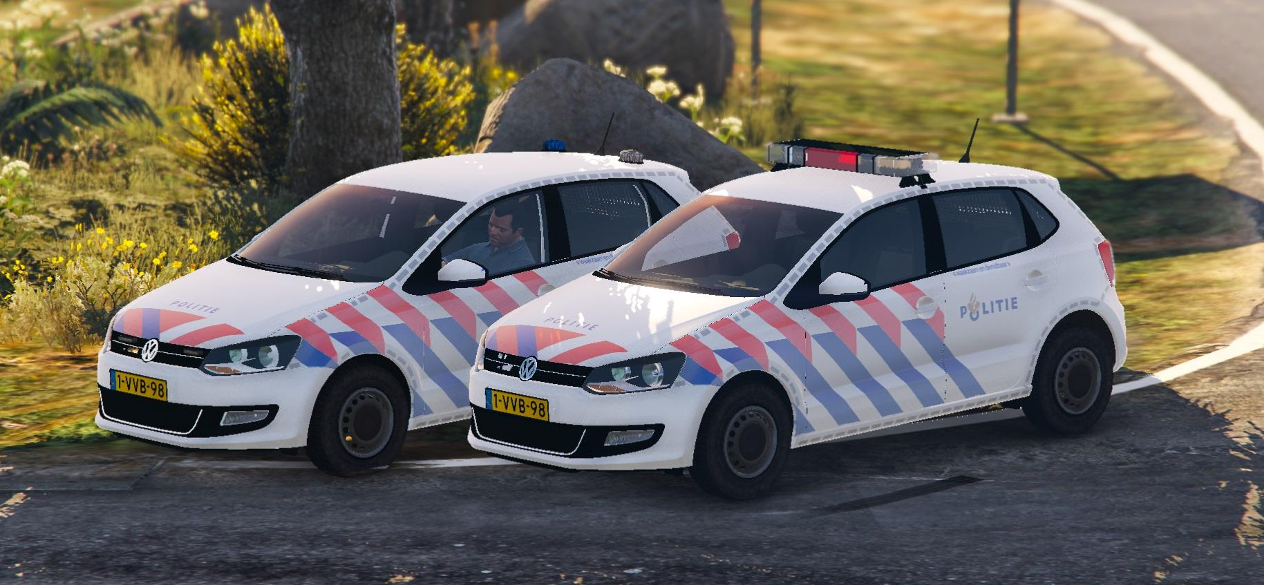 2011 volkswagen polo politie els new version gta5. Black Bedroom Furniture Sets. Home Design Ideas