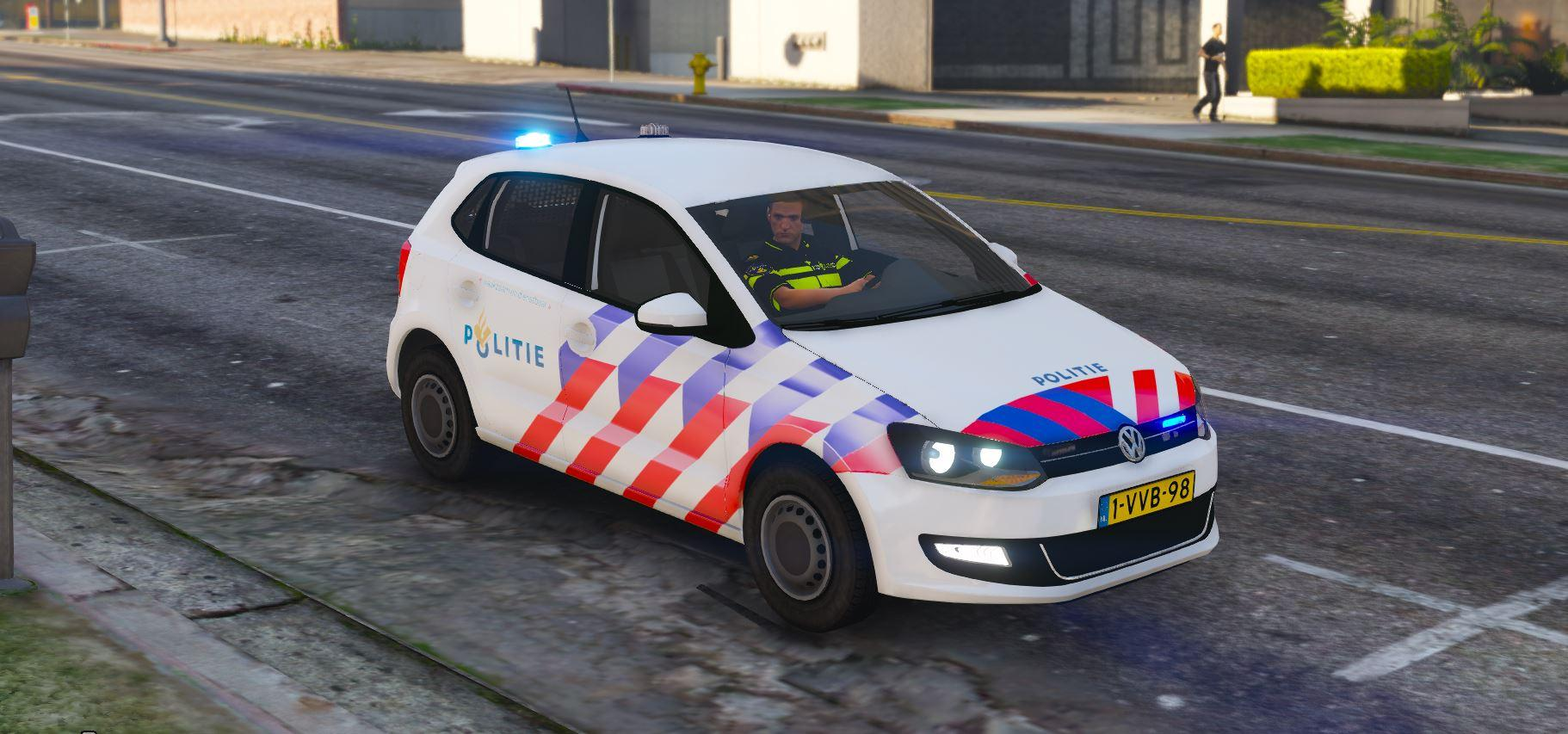 2011 volkswagen polo politie locked els 2 versies gta5. Black Bedroom Furniture Sets. Home Design Ideas