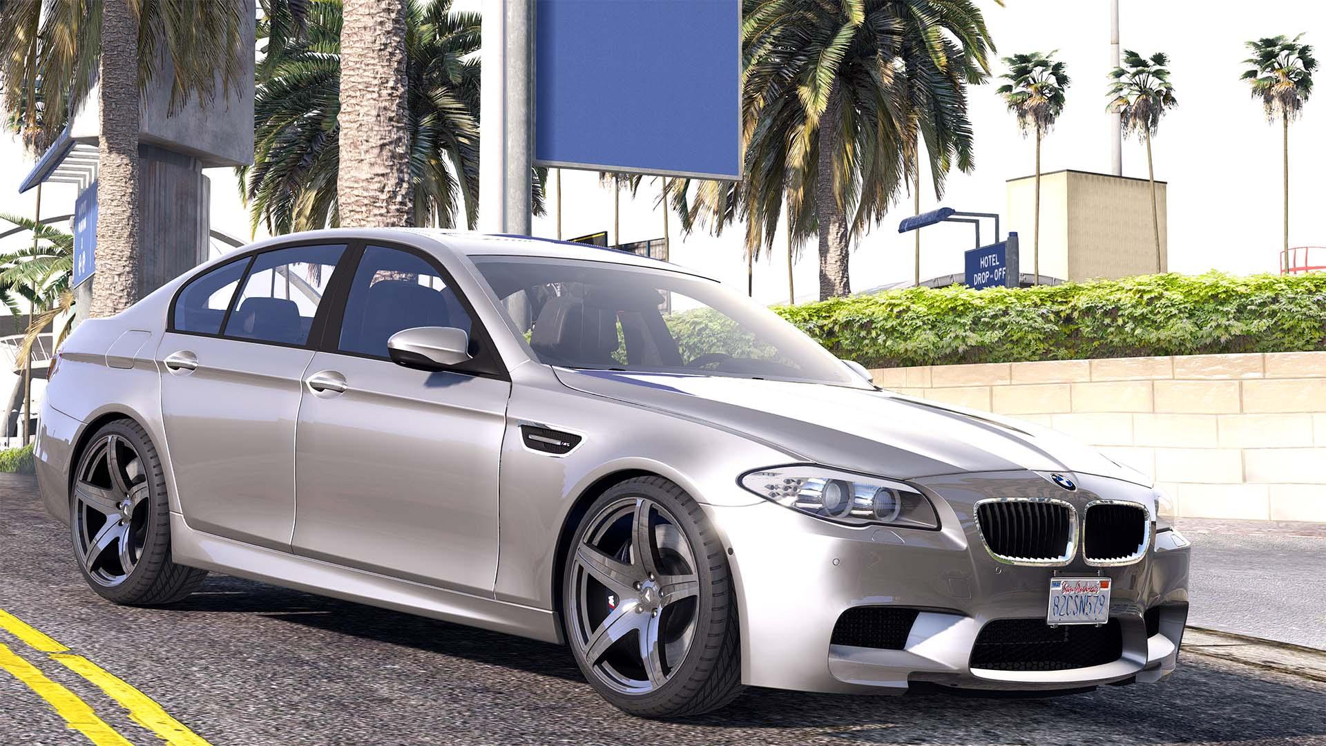2012 bmw m5 f10 add on replace animated gta5. Black Bedroom Furniture Sets. Home Design Ideas