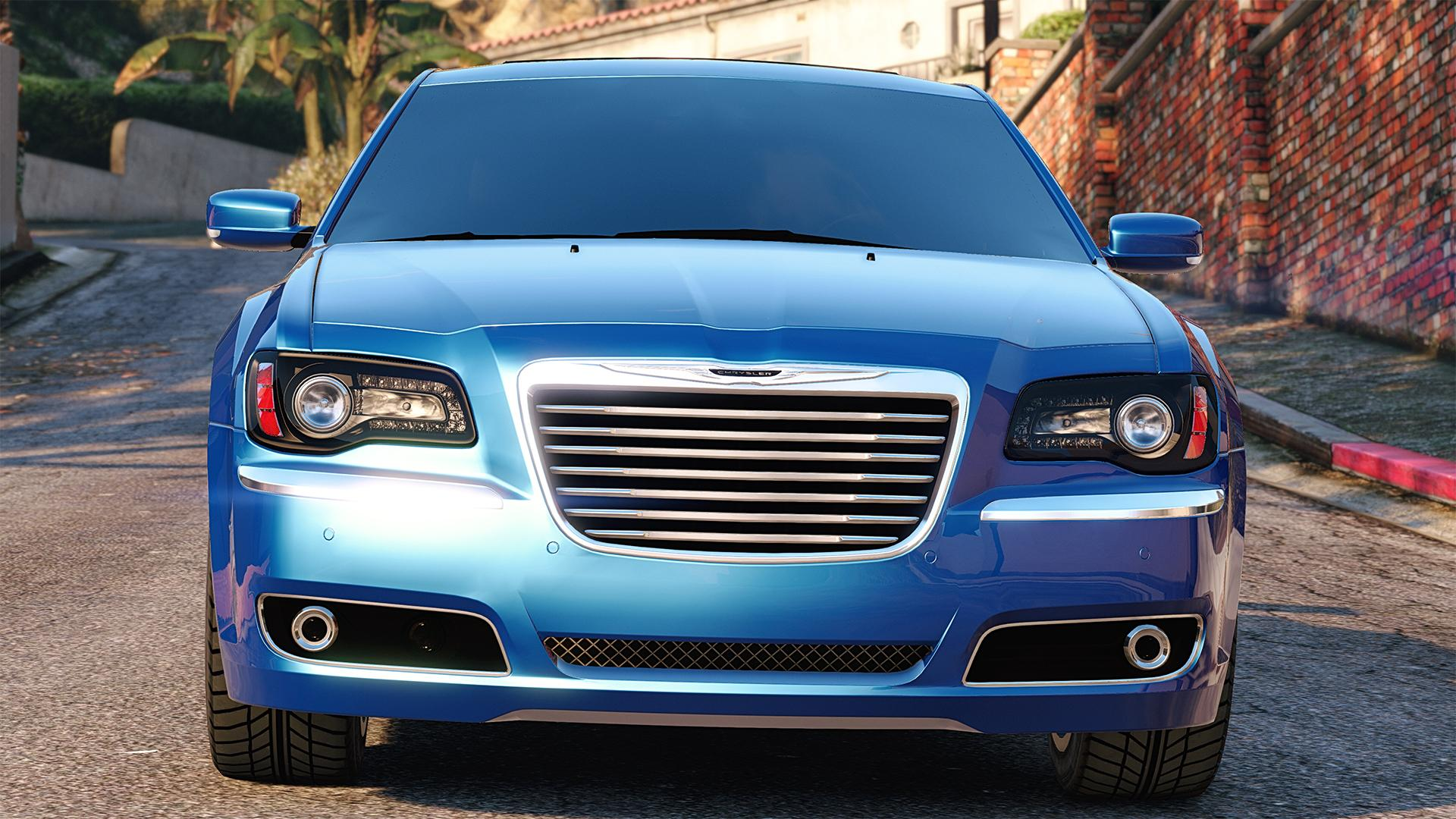 2012 Chrysler 300 Srt8 Add On Replace Tuning Gta5