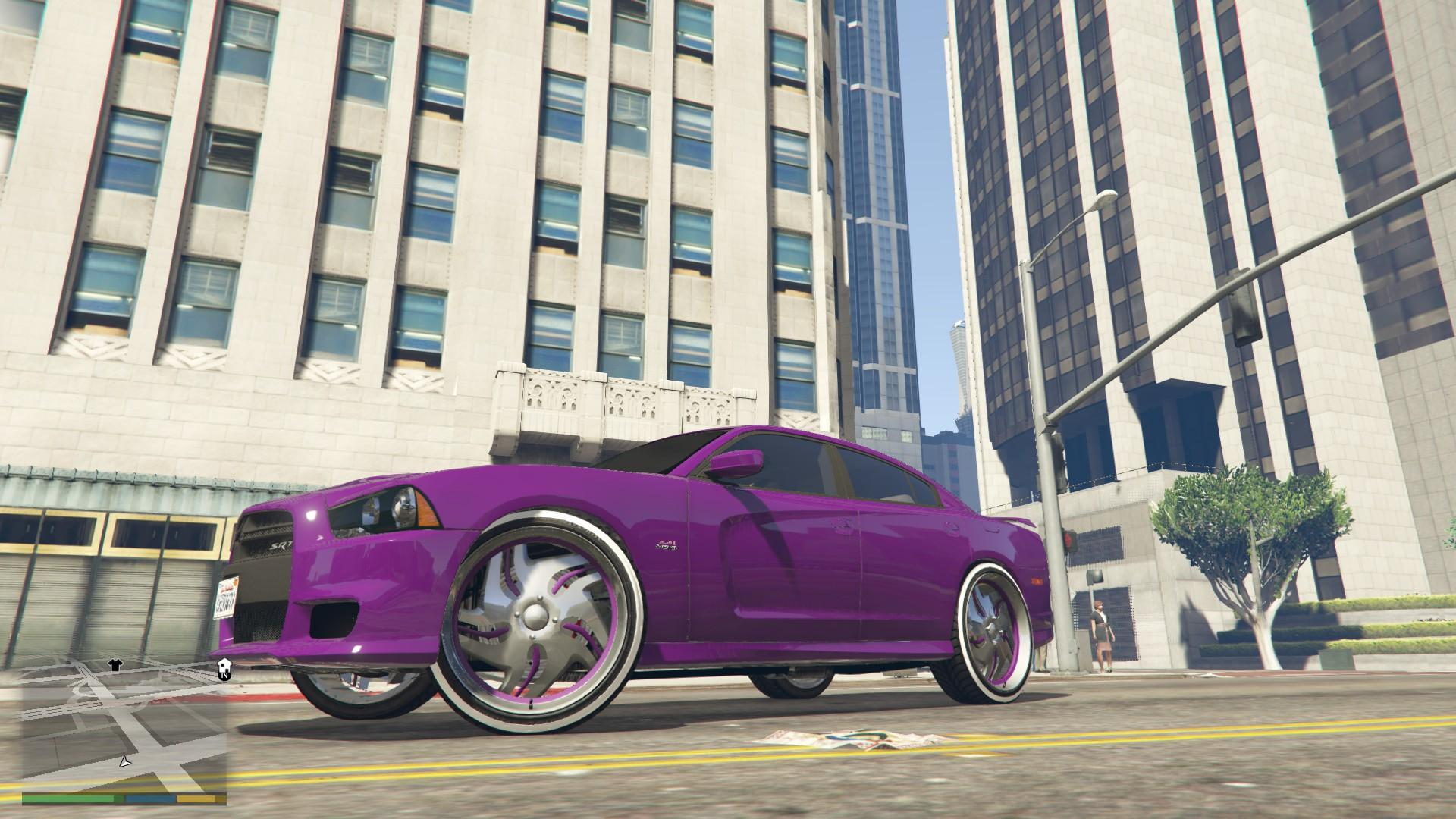 2012 Dodge Charger SRT8 Donk - GTA5-Mods.com