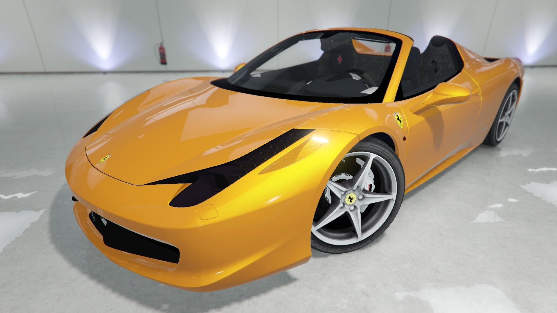 2012 ferrari 458 spider gta5. Black Bedroom Furniture Sets. Home Design Ideas
