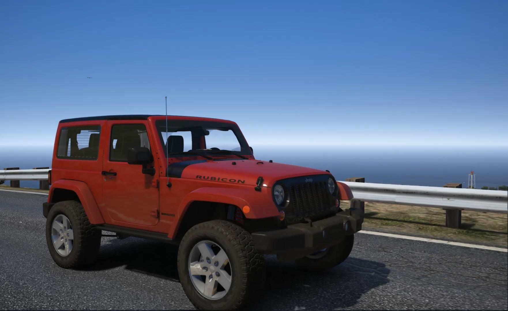 2012 Jeep Wrangler Add Tuning GTA5 Mods