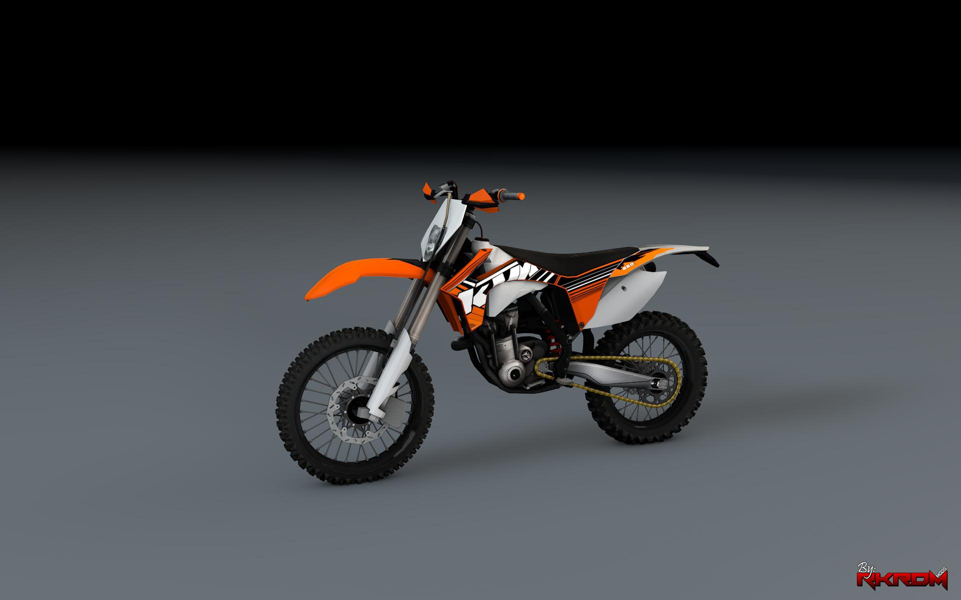 2012 ktm exc f 250 enduro add on gta5. Black Bedroom Furniture Sets. Home Design Ideas