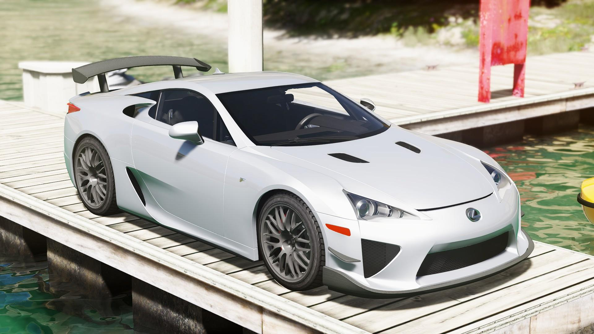 2012 lexus lfa nurburgring package add on gta5. Black Bedroom Furniture Sets. Home Design Ideas