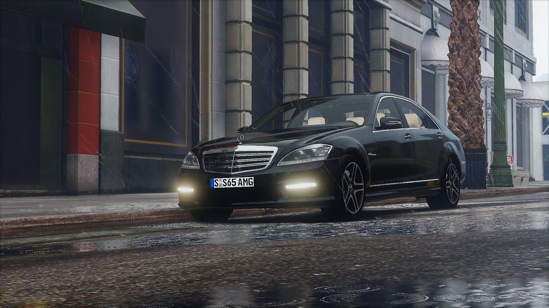 2012 mercedes benz s65 amg w221 add on tuning gta5. Black Bedroom Furniture Sets. Home Design Ideas