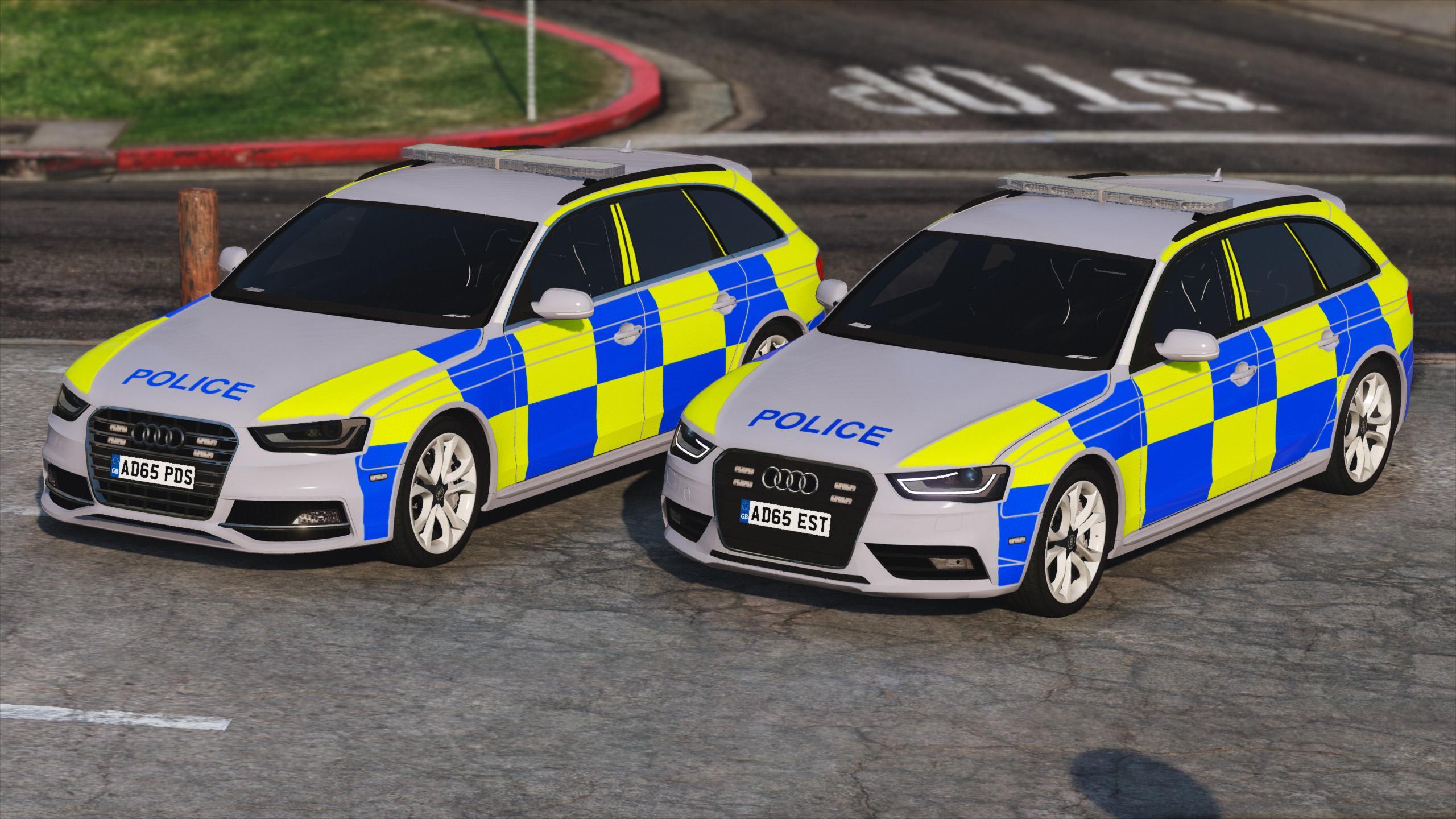 2013 British Police Audi A4/S4 Avant - GTA5-Mods com