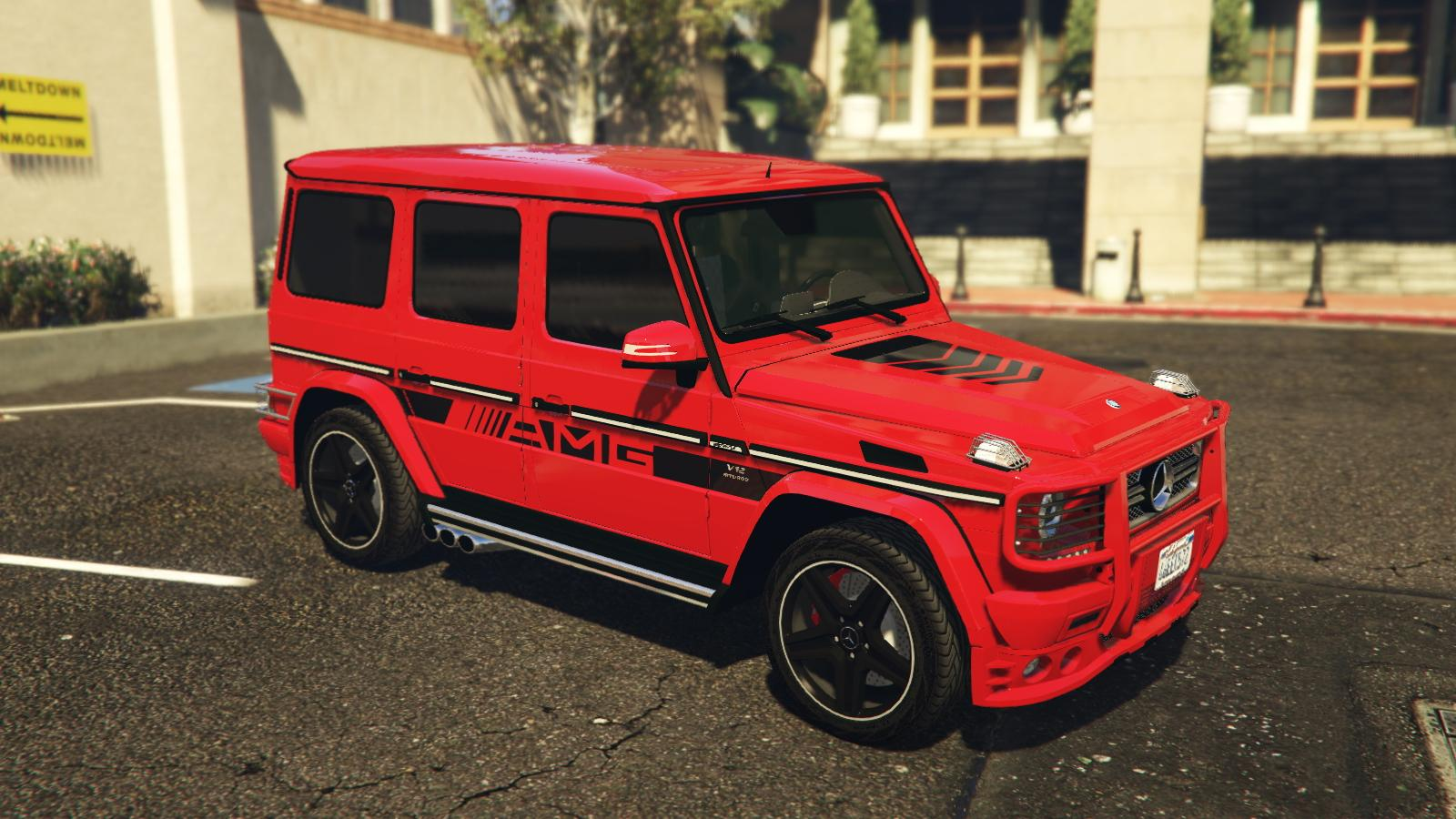 2013 mercedes benz g65 amg pack edition 463 live vip stripes paintjobs gta5. Black Bedroom Furniture Sets. Home Design Ideas