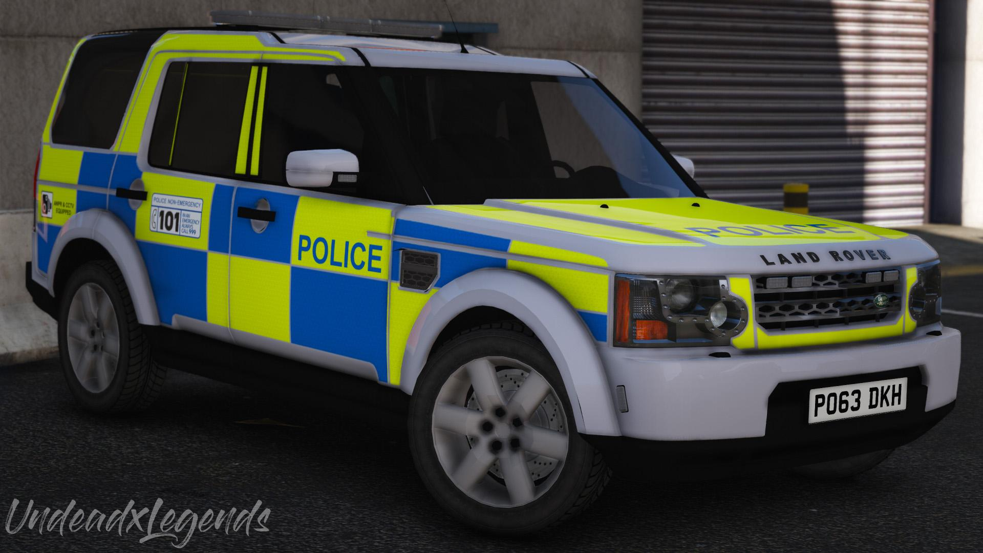 2013 Police Land Rover Discovery 4 Replace Els Gta5