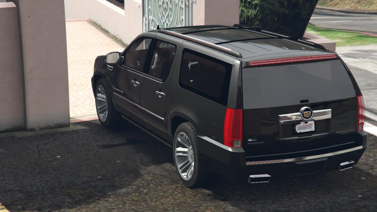 2017 Cadillac Escalade Esv Platinum >> 2013 Cadillac Escalade ESV Platinum [Replace] - GTA5-Mods.com