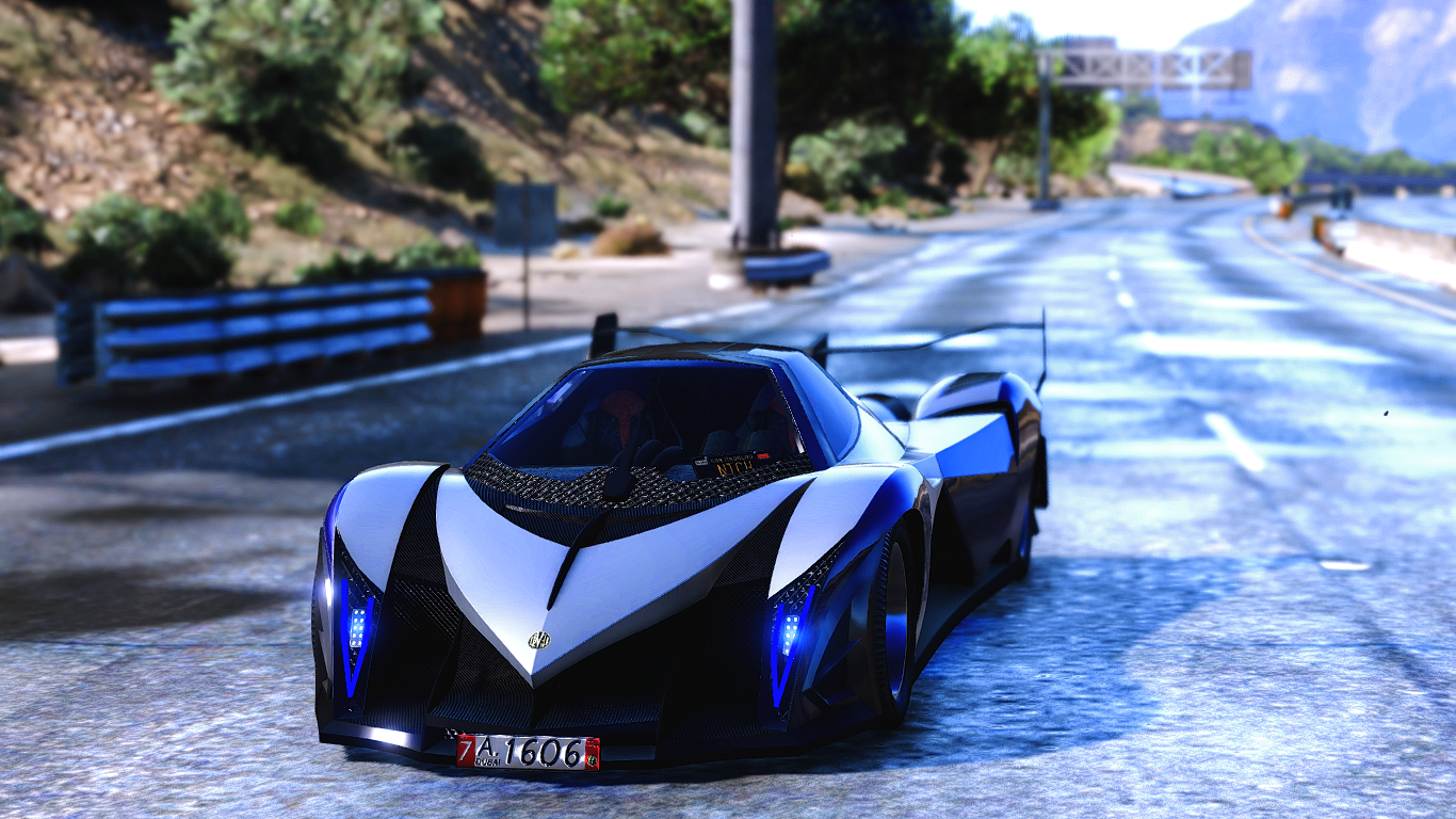2014 devel sixteen prototype hq addon real gta5. Black Bedroom Furniture Sets. Home Design Ideas