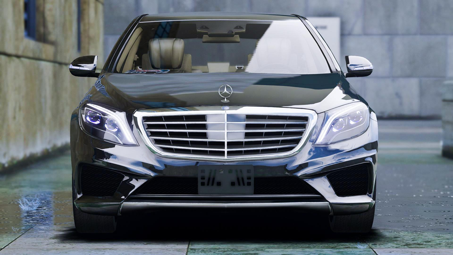 2014 mercedes amg s63 amg replace gta5. Black Bedroom Furniture Sets. Home Design Ideas
