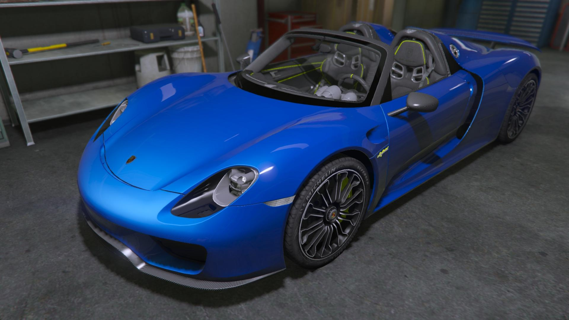 2014 porsche 918 spyder hd gta5. Black Bedroom Furniture Sets. Home Design Ideas