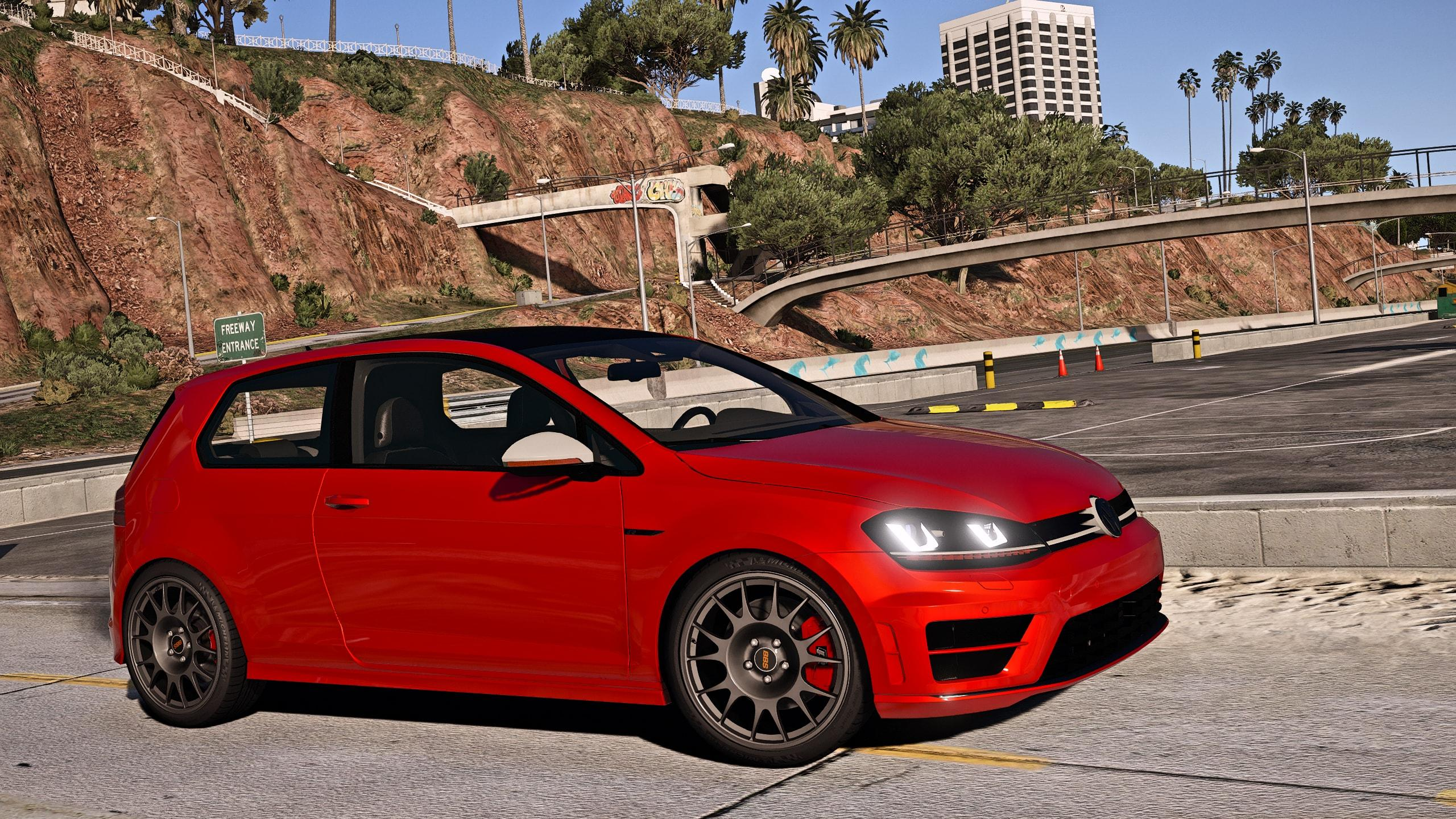 2014 volkswagen golf r add on replace gta5. Black Bedroom Furniture Sets. Home Design Ideas