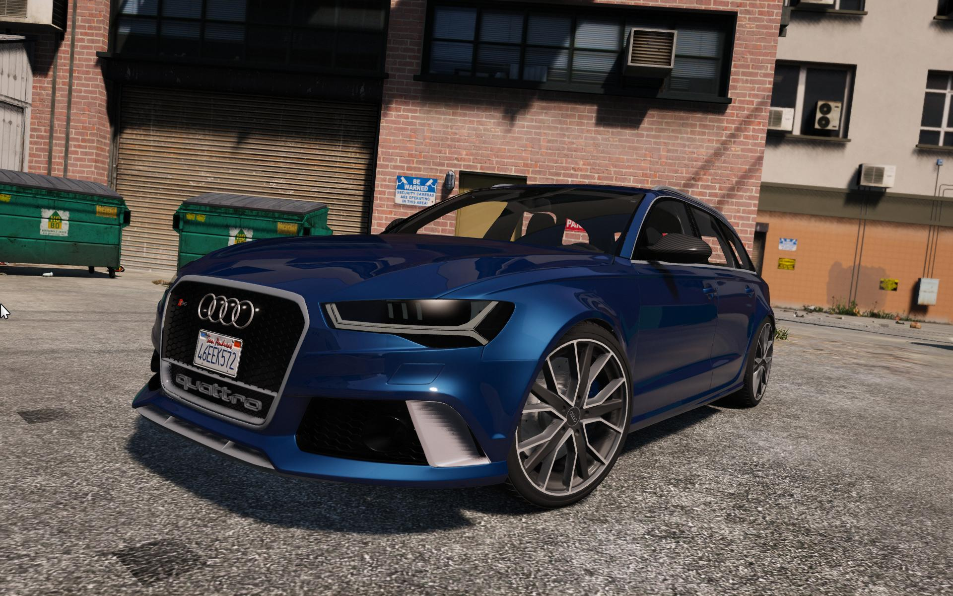 2016 audi rs6 c7 performance add on tuning liveries hq gta5. Black Bedroom Furniture Sets. Home Design Ideas