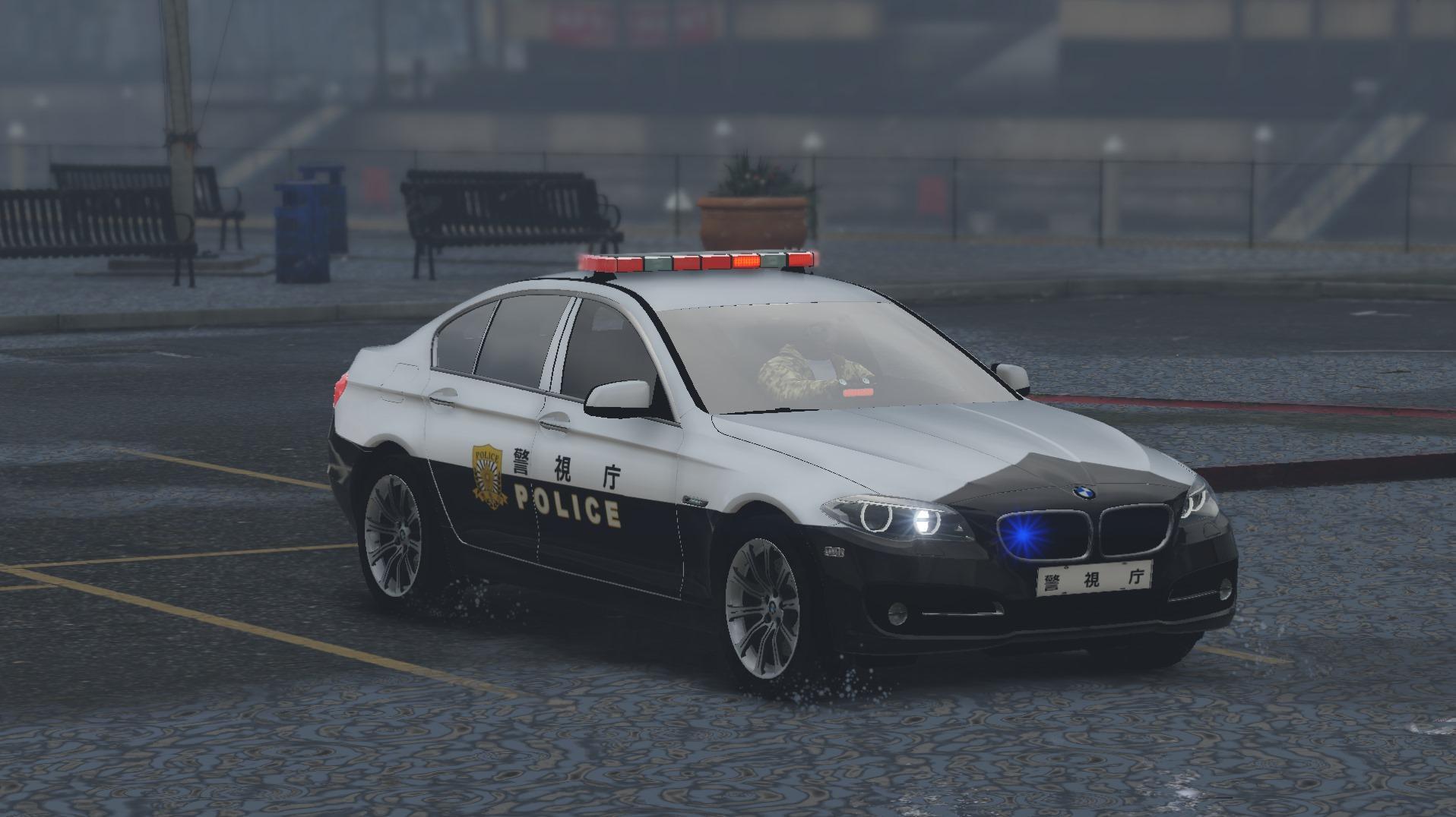 2015 BMW 530D Japanese Police - GTA5-Mods.com