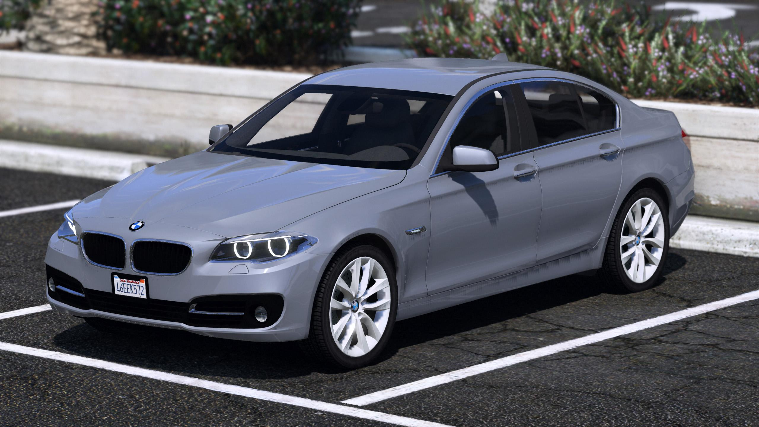 2015 bmw 530d f10 unlocked gta5. Black Bedroom Furniture Sets. Home Design Ideas