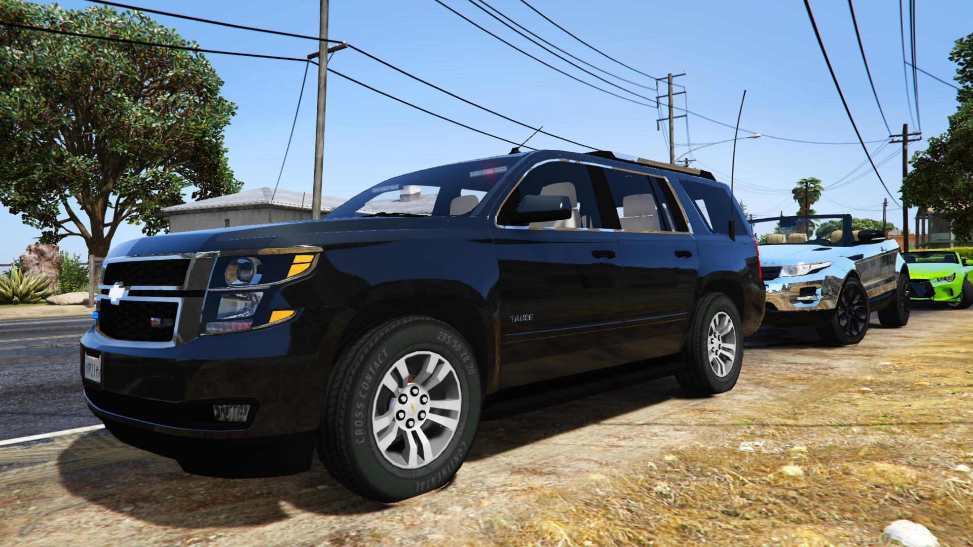 2015 Chevrolet Tahoe FBI [Unlocked] - GTA5-Mods.com