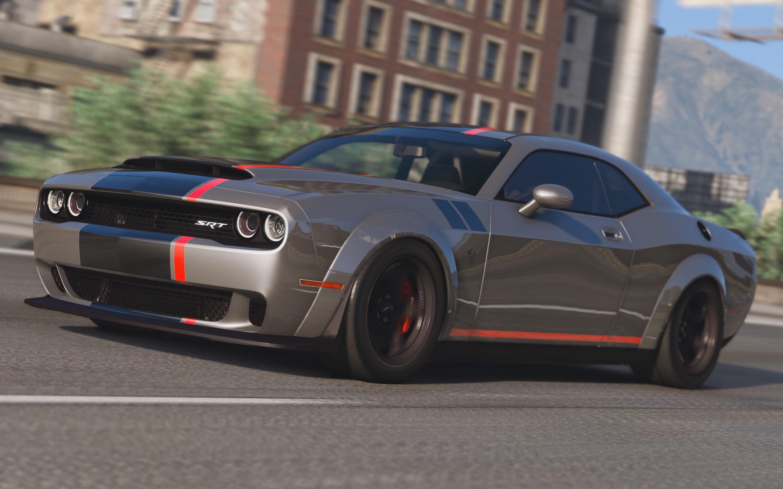 Dodge Charger Demon >> 2016 Dodge Challenger [Shaker / Hellcat / Demon / Liberty Walk] - GTA5-Mods.com