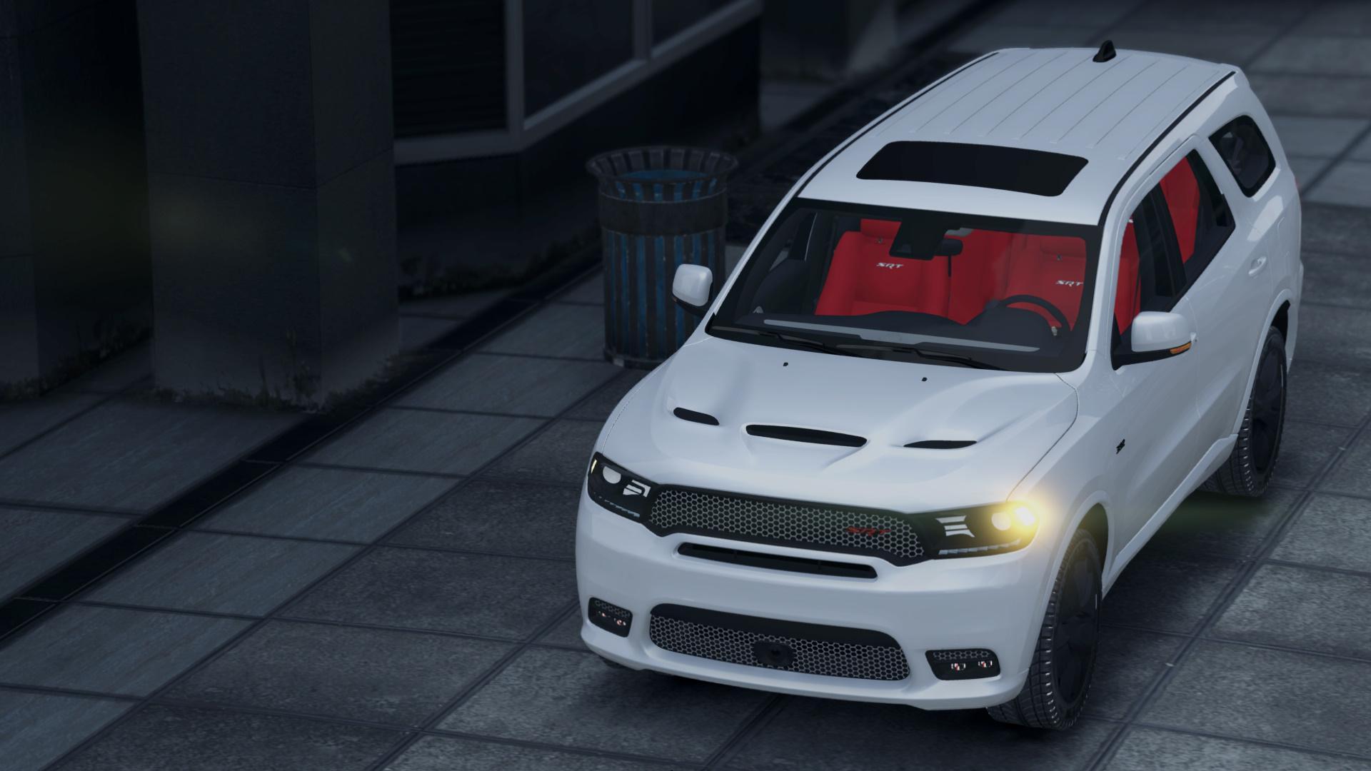 2018 Dodge Durango Srt Add On Replace Gta5 Mods Com