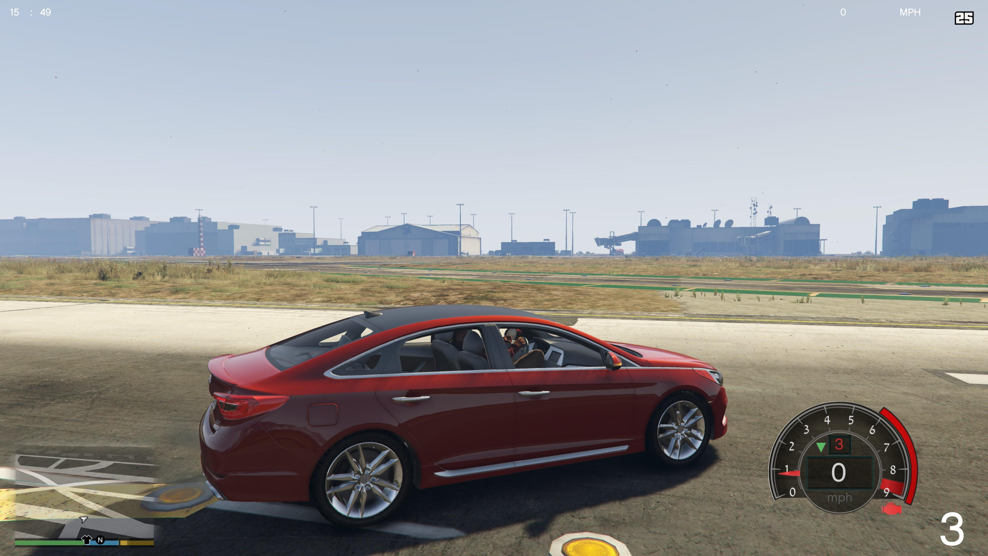 2015 hyundai sonata 2 0t sport gta5. Black Bedroom Furniture Sets. Home Design Ideas