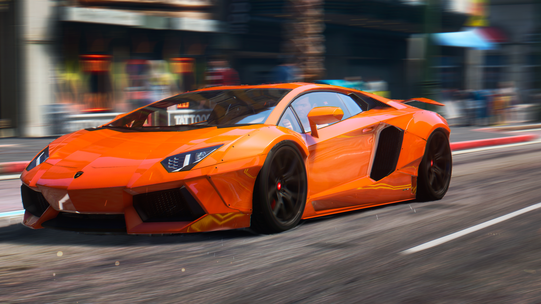 2015 Lamborghini Aventador [Liberty Walk | HQ | Animated Engine | Livery |  Tuning | AutoSpoiler]   GTA5 Mods.com