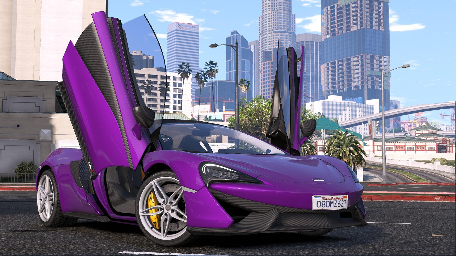2015 Mclaren 570s Add On Replace Gta5 Mods Com
