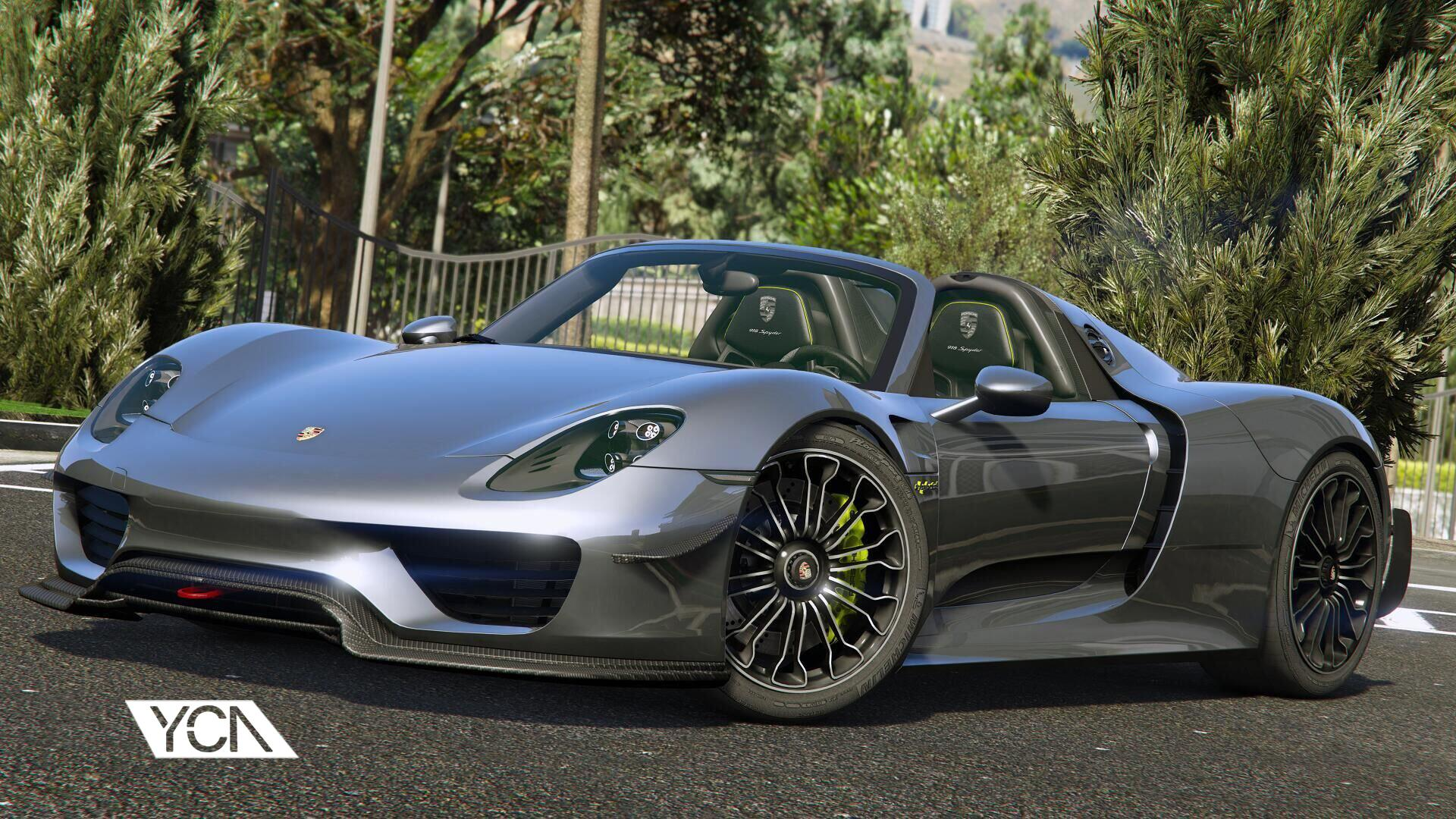 2015 porsche 918 spyder weissach kit add on wipers gta5. Black Bedroom Furniture Sets. Home Design Ideas