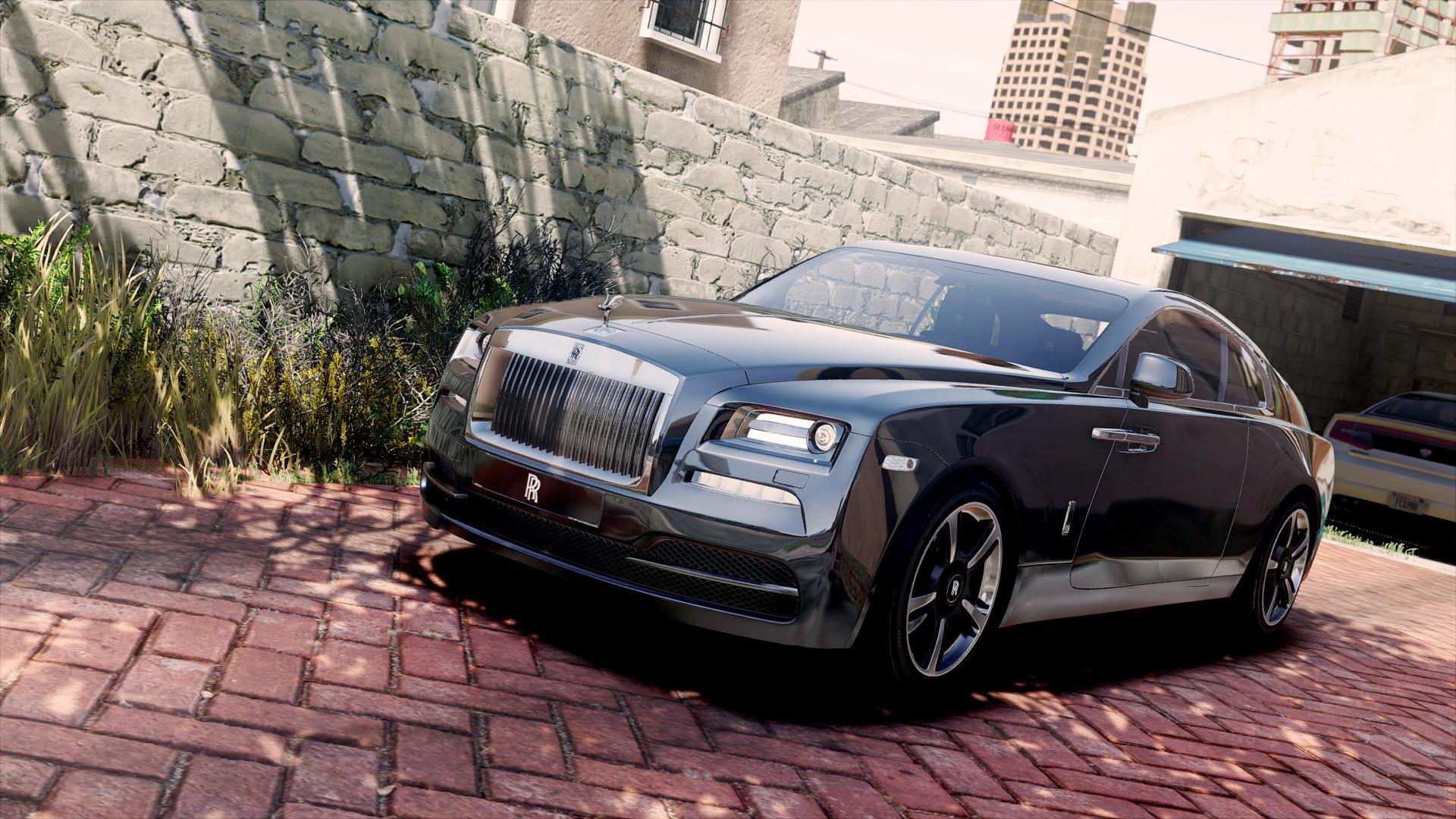 2015 Rolls Royce Wraith Add On Gta5 Mods Com