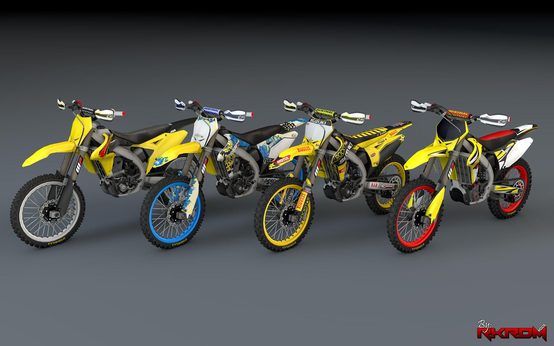 2015 suzuki rmz 250 version 3 gta5. Black Bedroom Furniture Sets. Home Design Ideas