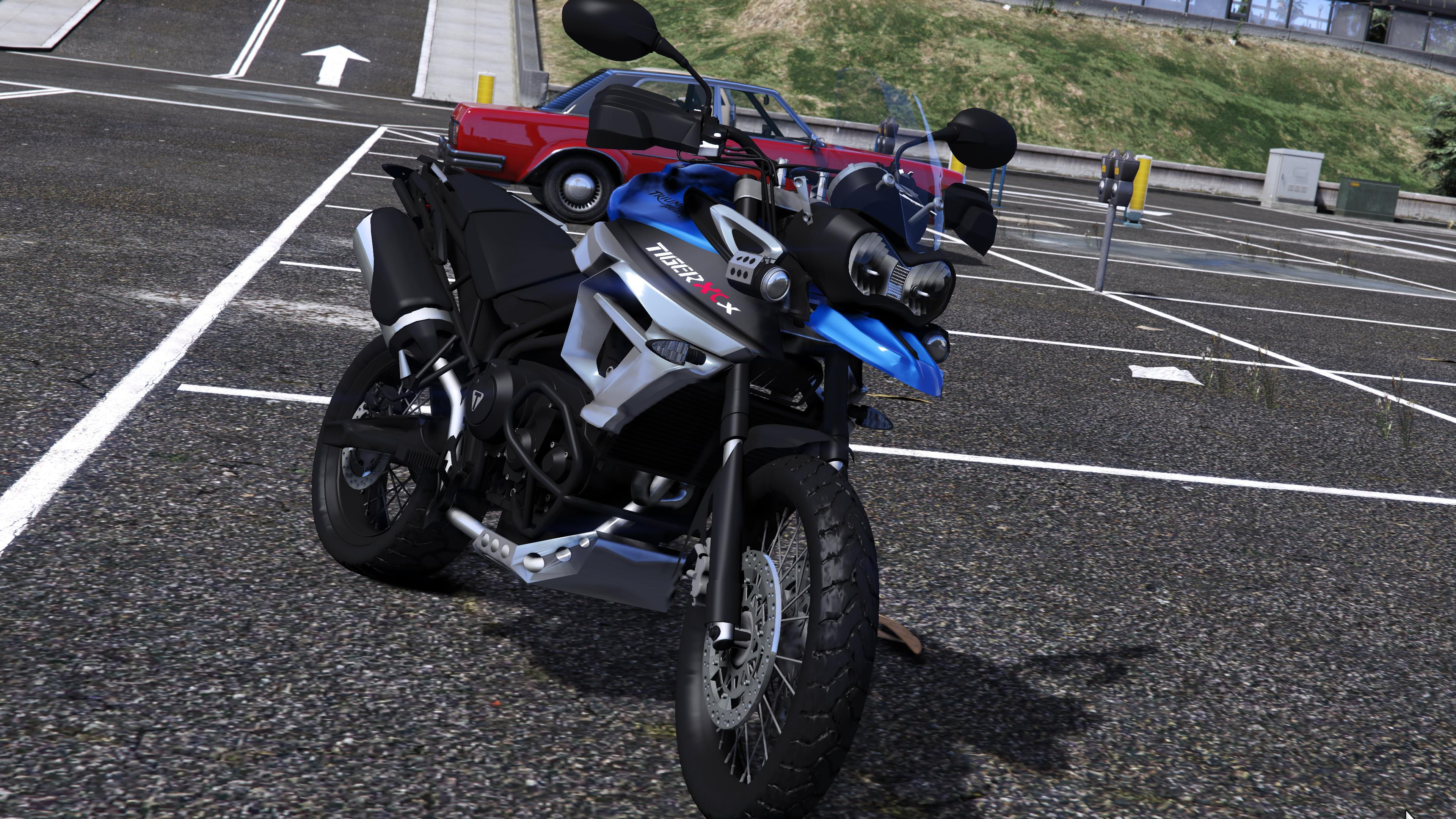 2015 triumph tiger 800 xcx v2 gta5. Black Bedroom Furniture Sets. Home Design Ideas