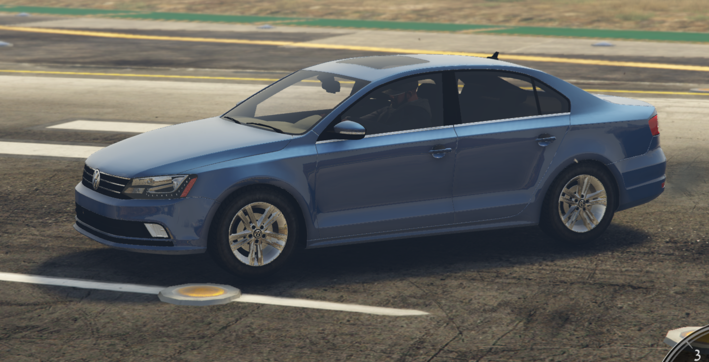 2015 volkswagen jetta 1 8t sel add on replace gta5. Black Bedroom Furniture Sets. Home Design Ideas